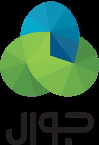 Arabic logo on white